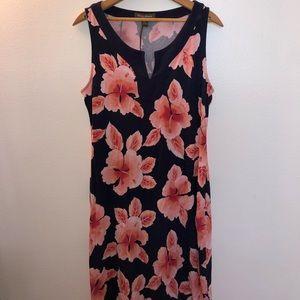 Tommy Bahama Hawaiian Dress Sleeveless NWOT